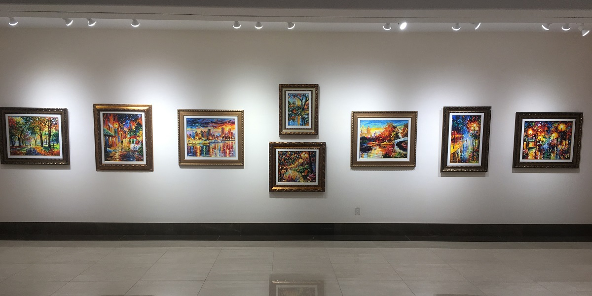 Daniel Wall Collection at Park West Gallery