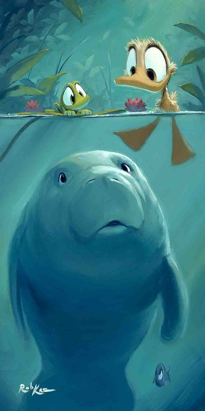 """Curious Sea Cow"""