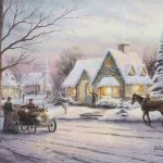 """Memories of Christmas,"" Thomas Kinkade"
