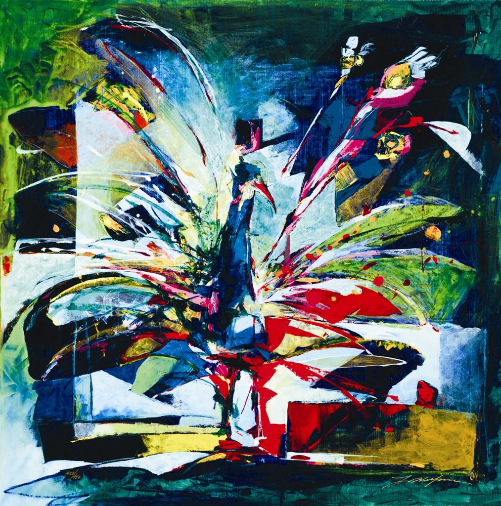 """""""Ruffled"""" (2016), Yuval Wolfson"""