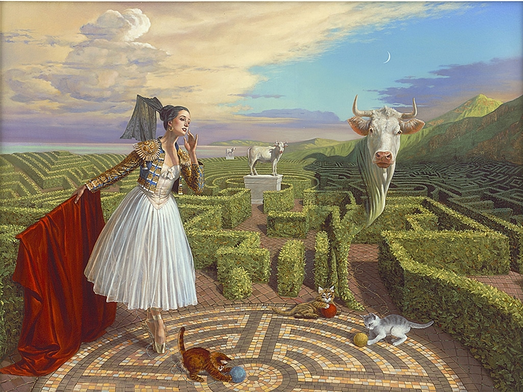 """""""Echo of Misconception,"""" Michael Cheval"""