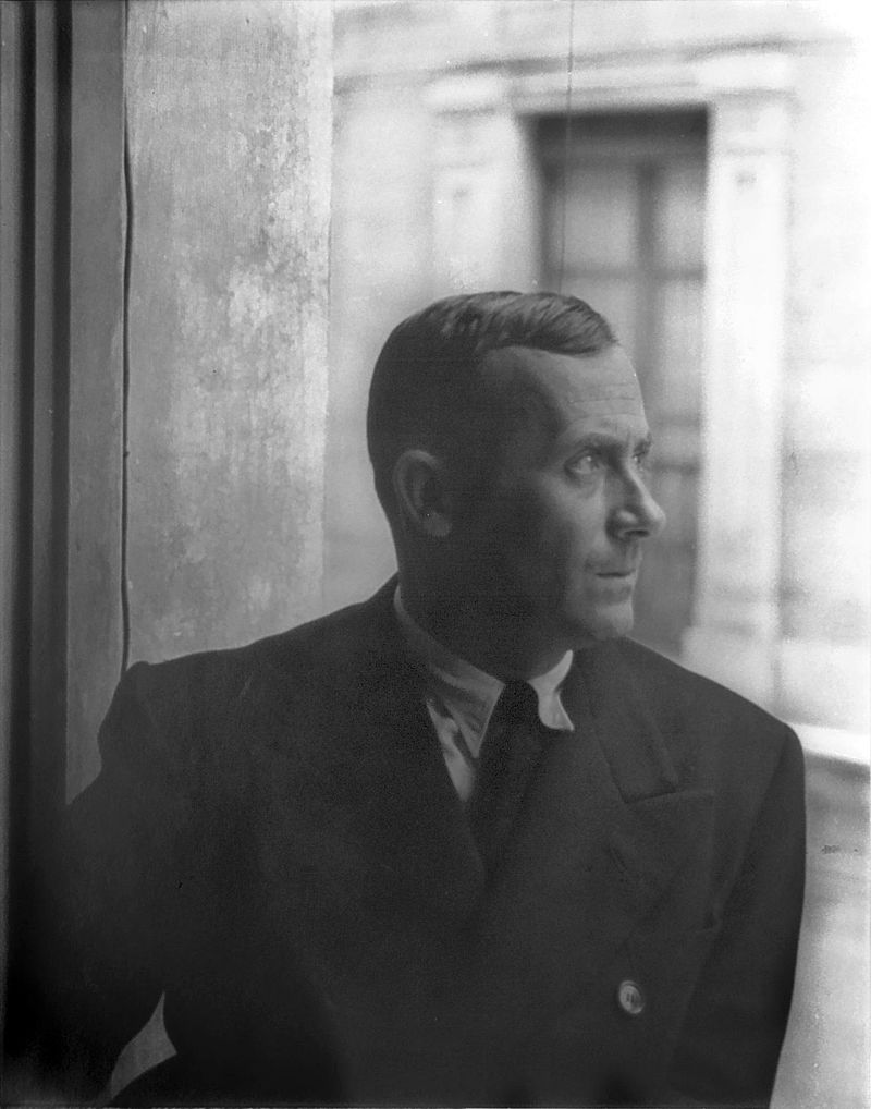 Joan Miró in Barcelona, 1935. Public Domain. Image courtesy of the Carl Van Vechten Photographs collection at the Library of Congress.