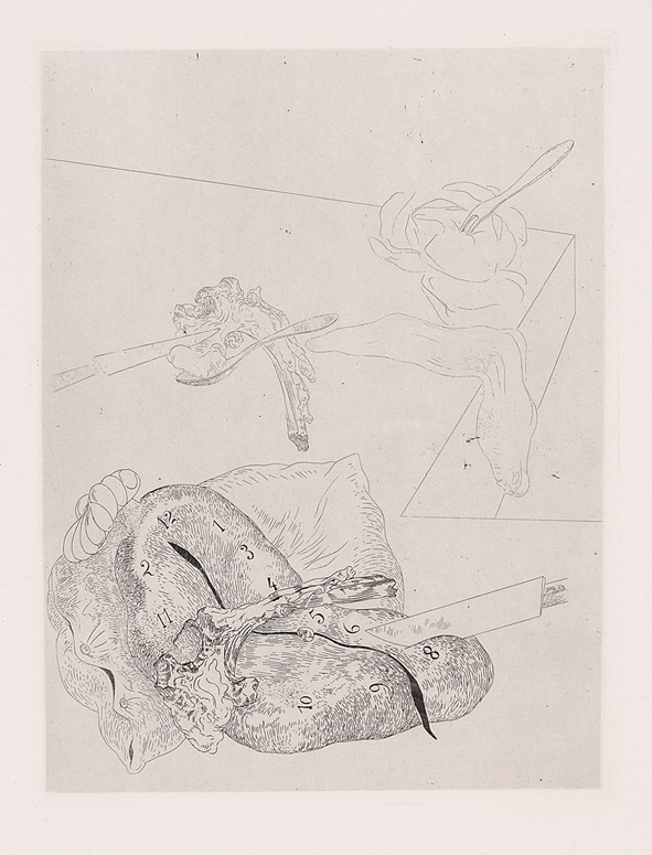 """""""Les Chants de Maldoror, Plate 15"""" (1934), Salvador Dalí"""