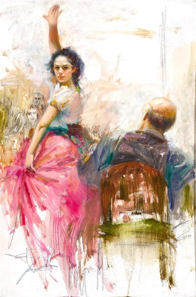 """Gypsy Dancer (Original Study)"" Pino"