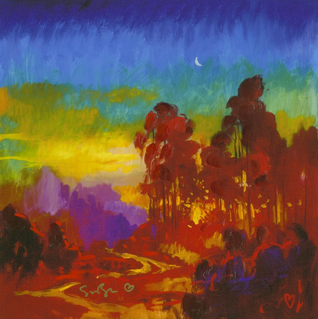 """California Moonrise"" (2013), Simon Bull"