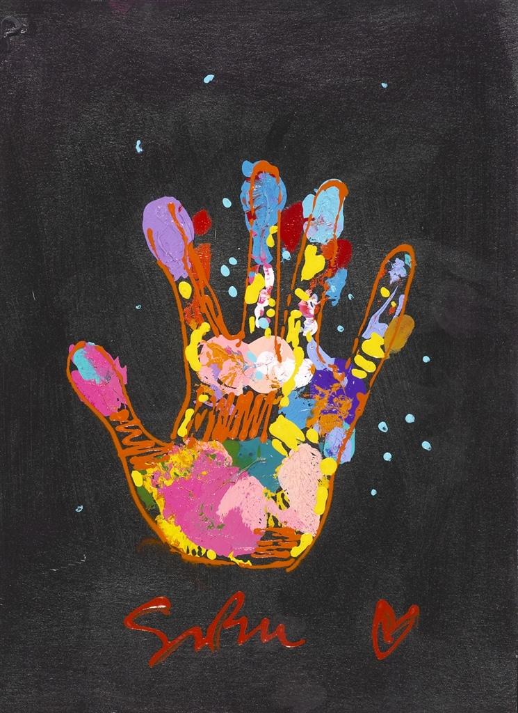 """""""We Are Stardust I"""" (2014), Simon Bull"""