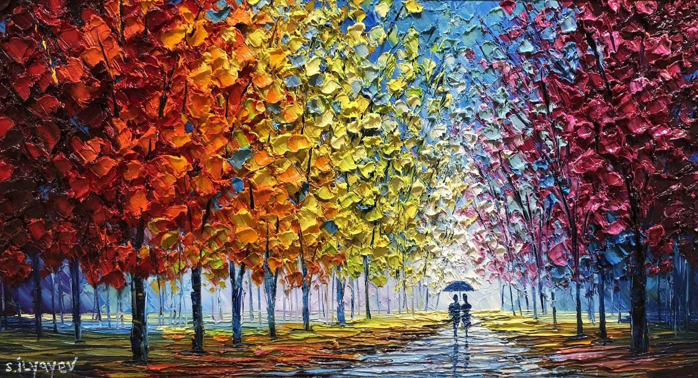 """Pacing Through Autumn's Gallery,"" Slava Ilyayev"