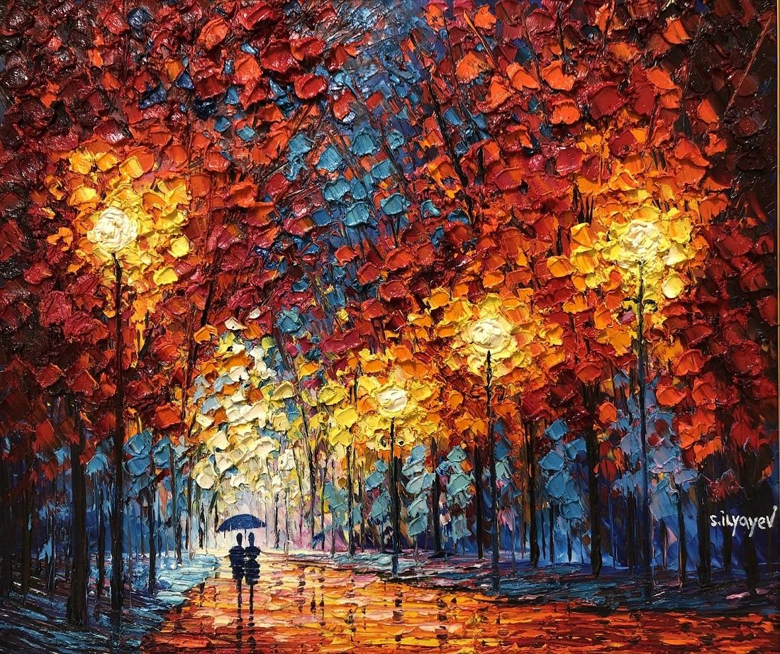 """Autumn Colors Gleaming in the Sun,"" Slava Ilyayev"