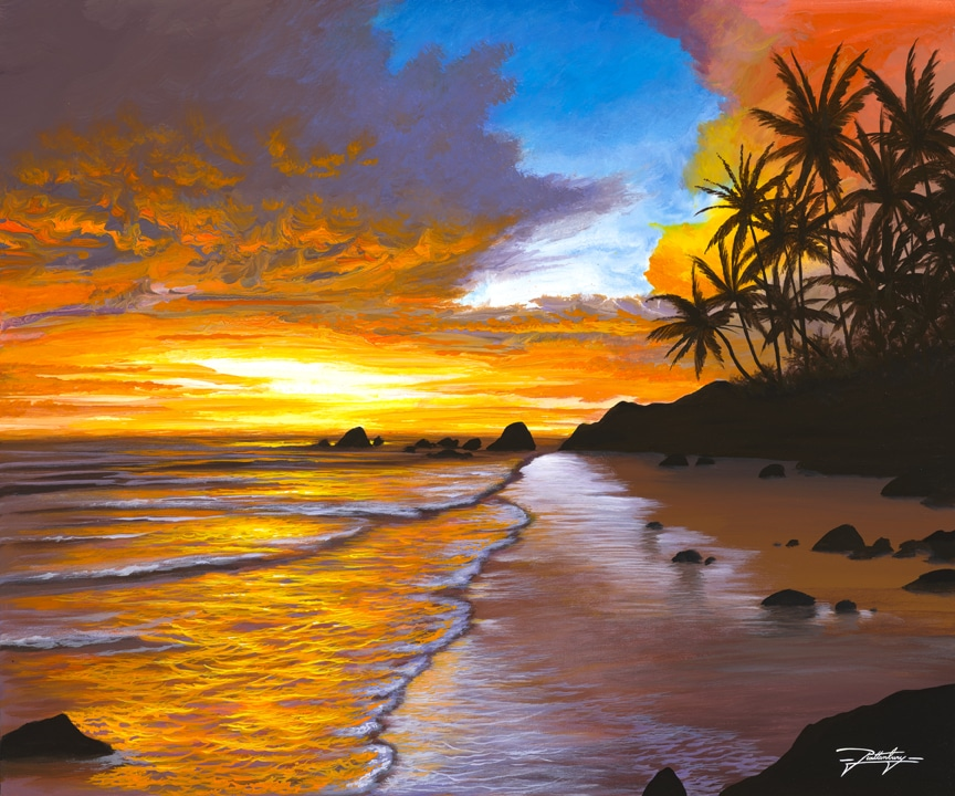 """Sunset Sea,"" Jon Rattenbury"