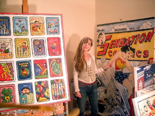Artist Leslie Lew