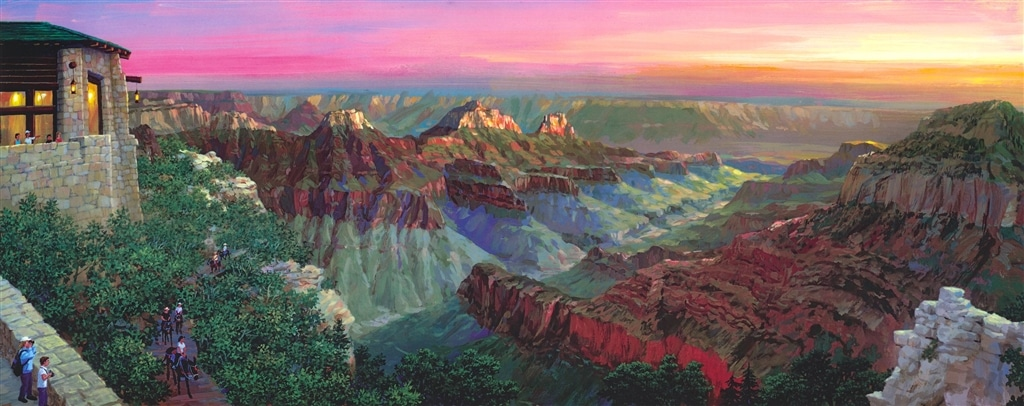 """Grand Canyon North Rim"" (2018), Alexander Chen"