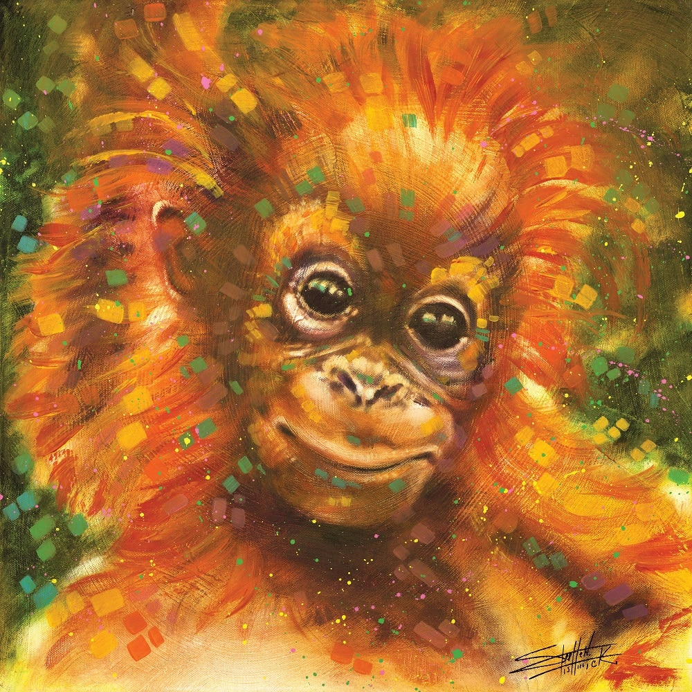 """Baby Orangutan,"" Stephen Fishwick"