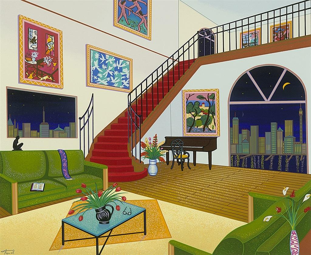 """Duplex with Six Matisse,"" Fanch Ledan"