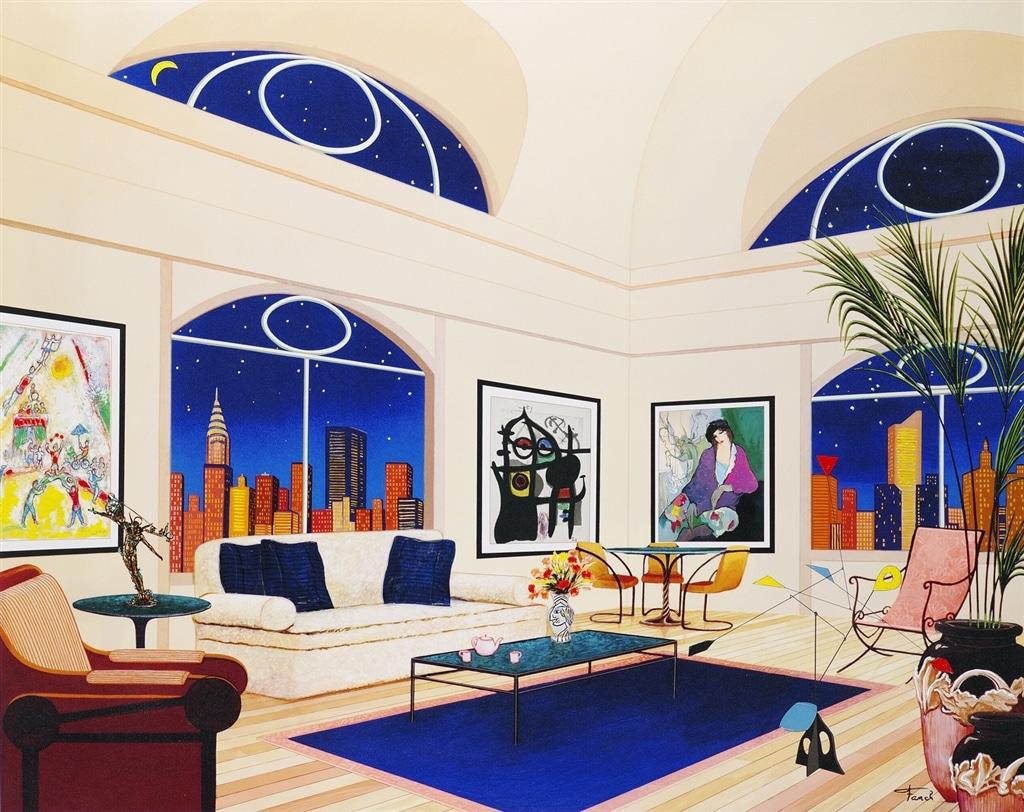 """New York Nights II,"" Fanch Ledan"