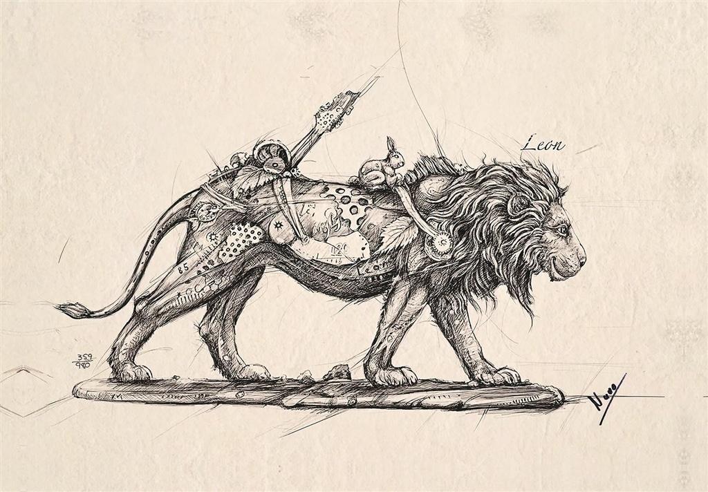 """Leonardo"" by Nano Lopez"