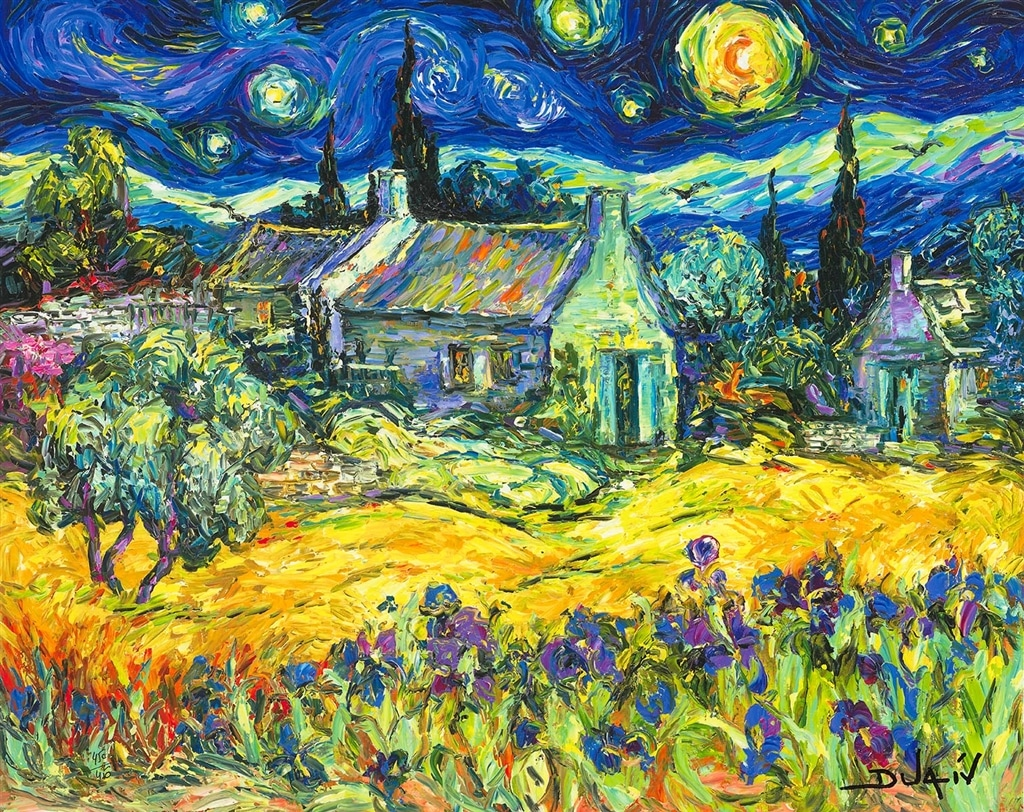 """Tribute to Van Gogh"" (2018)"