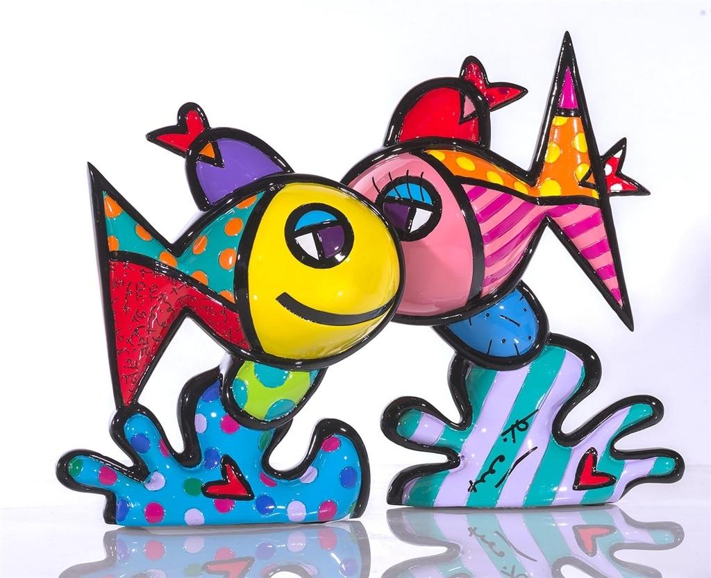 """""""Deep Love"""" by Romero Britto."""