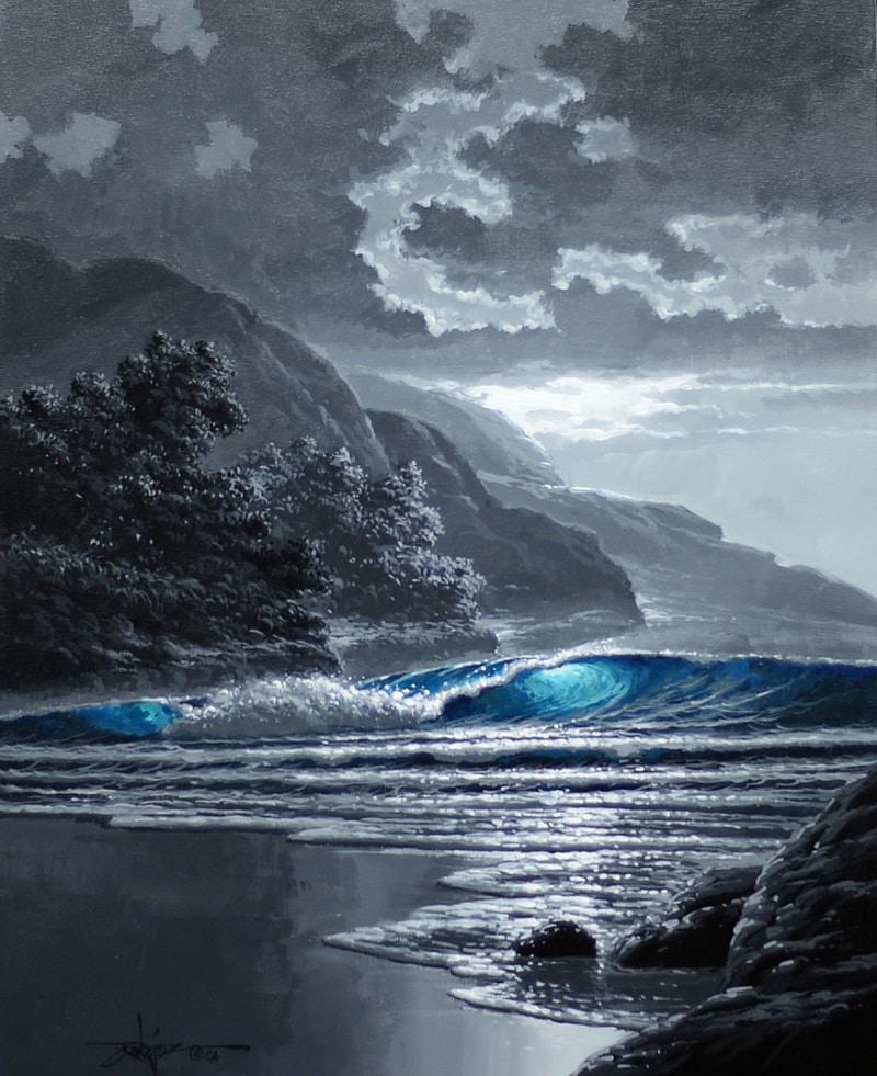 """""""Blue Afterglow,"""" Rodel Gonzalez"""