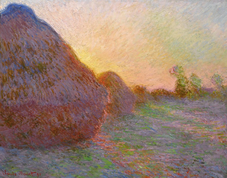 """""""Meules"""" by Claude Monet"""