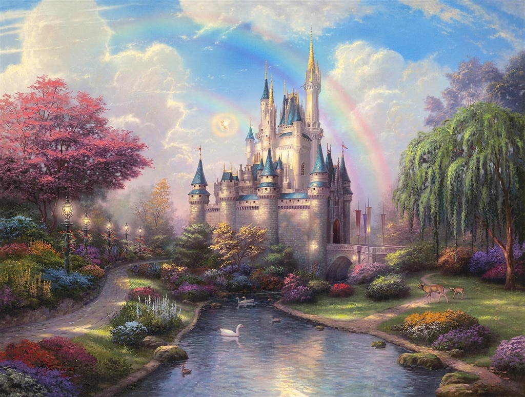 """""""New Day at the Cinderella Castle"""""""