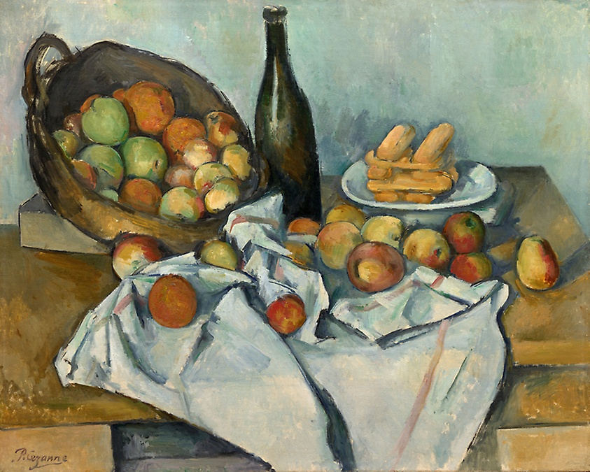 """The Basket of Apples"" (c. 1893), Paul Cézanne (courtesy of The Art Institute of Chicago)"