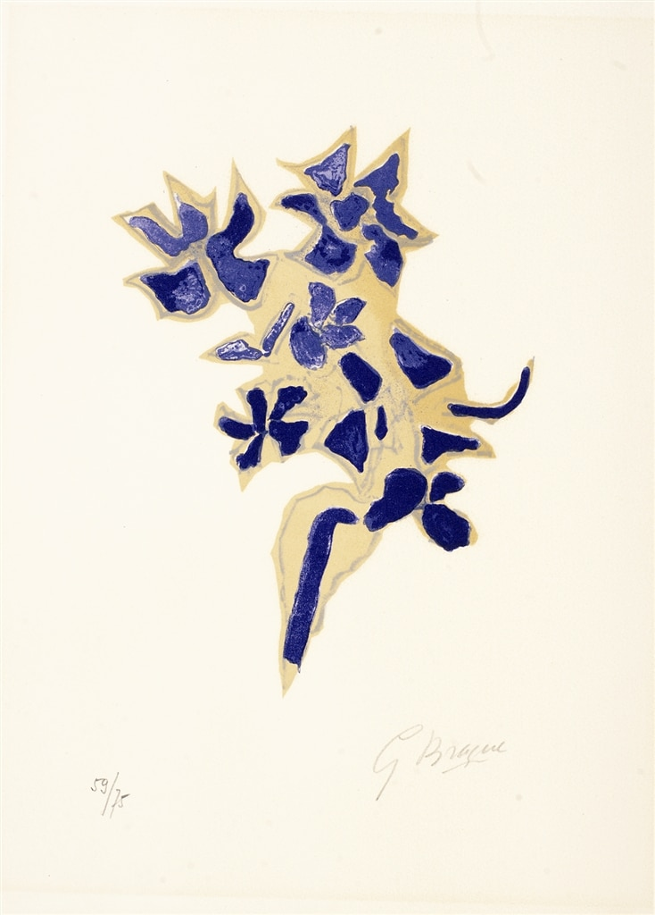 """Giroflee Bleue"" (1963), Georges Braque, Cubism, What is Cubism"
