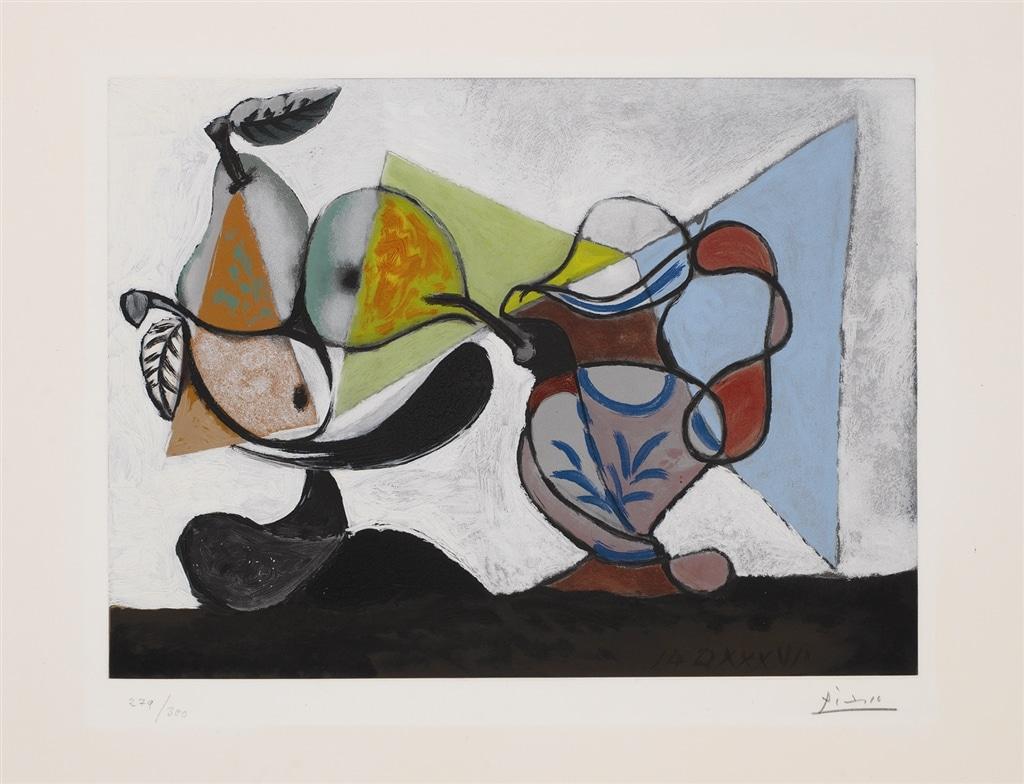 """""""Nature Morte aux Poires et au Pichet"""" (1960), Pablo Picasso"""