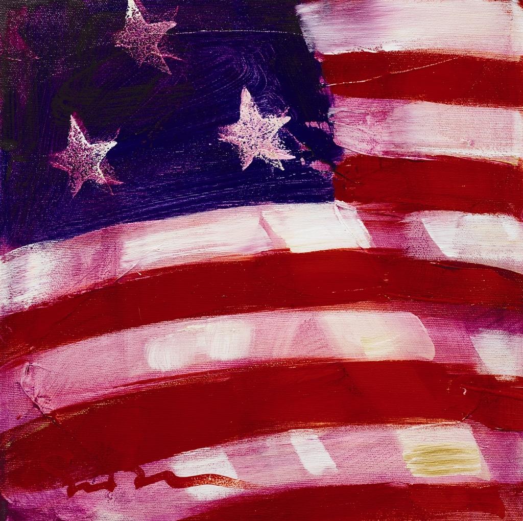 """American Flags VII"" (2007), Simon Bull"