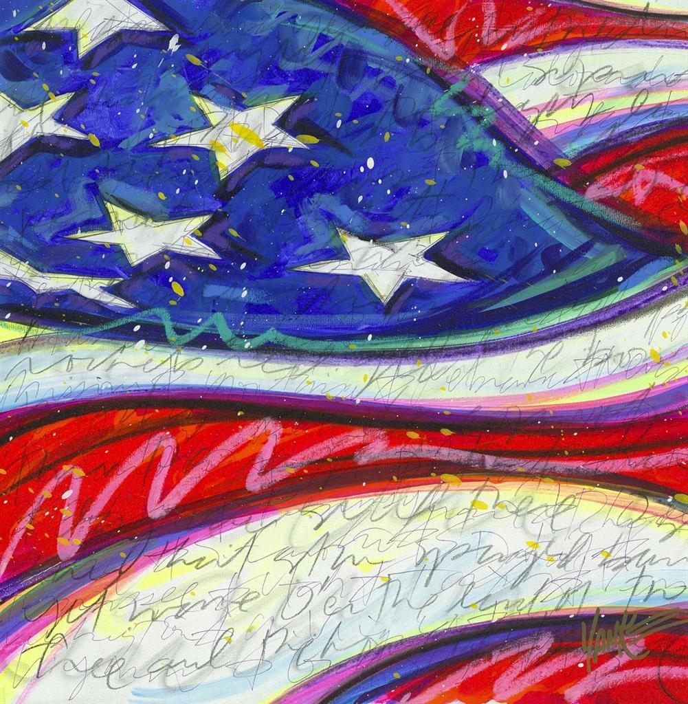 """""""Yanke D-Day Doodle (060717.107)"""" (2017), Tim Yanke"""
