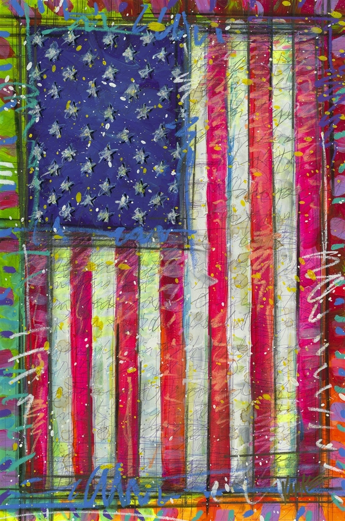 """Yankee Doodle (100516.99)"" (2016), Tim Yanke"