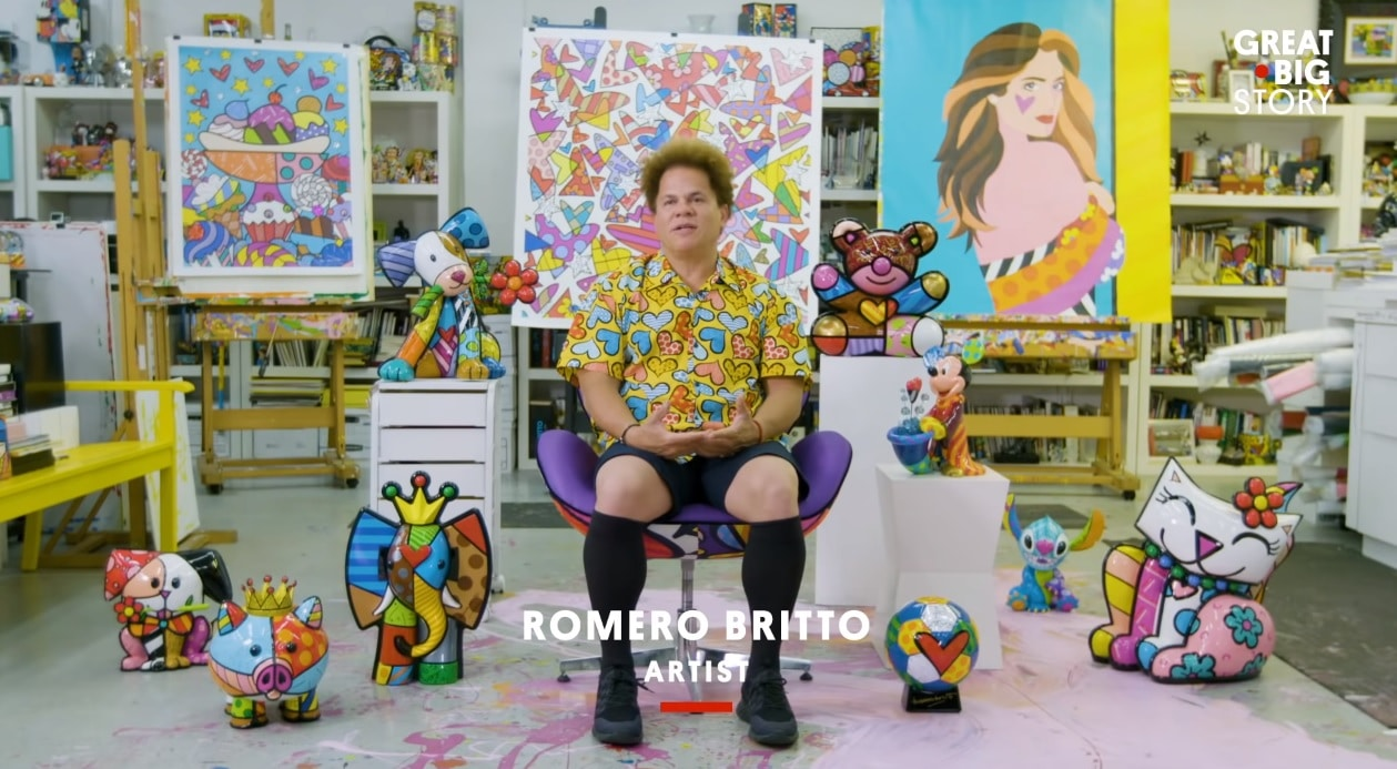 Romero Britto on CNN's Great Big Story