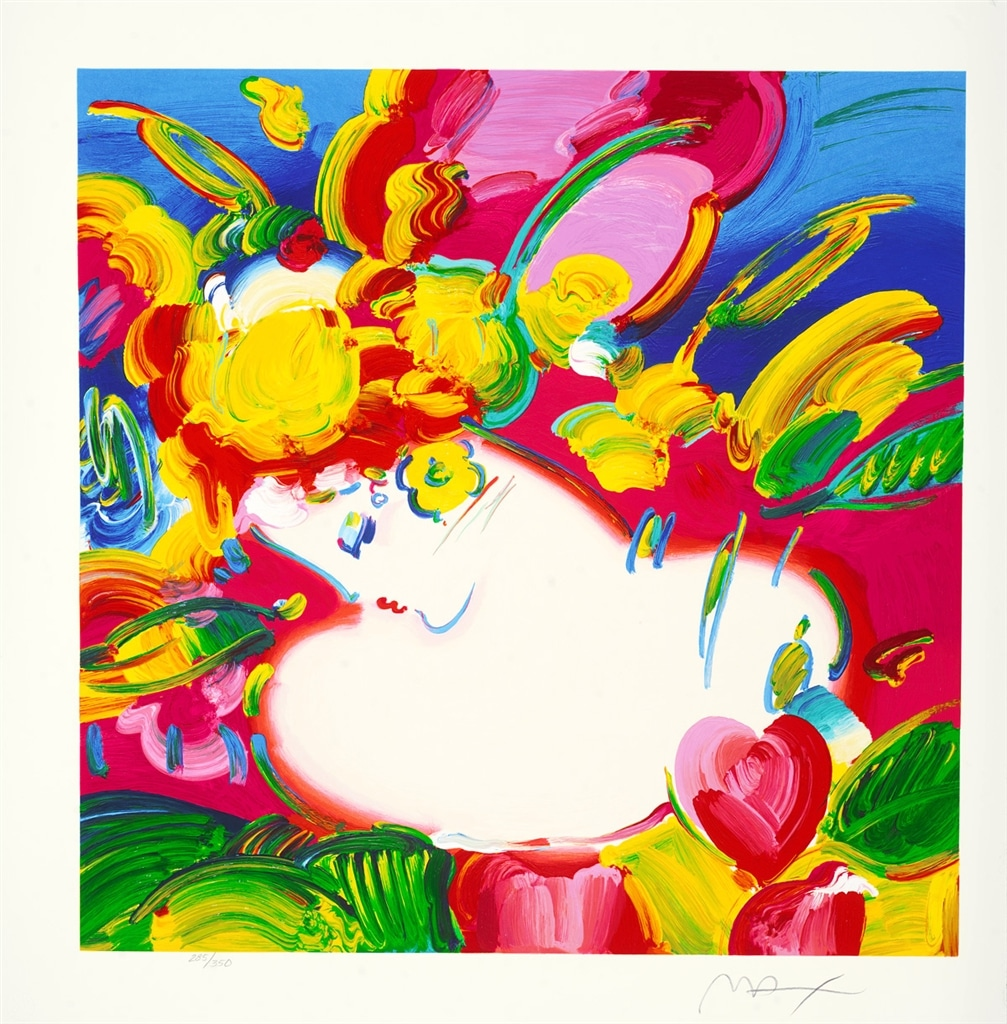 """Flower Blossom Lady"" (2012), Peter Max"