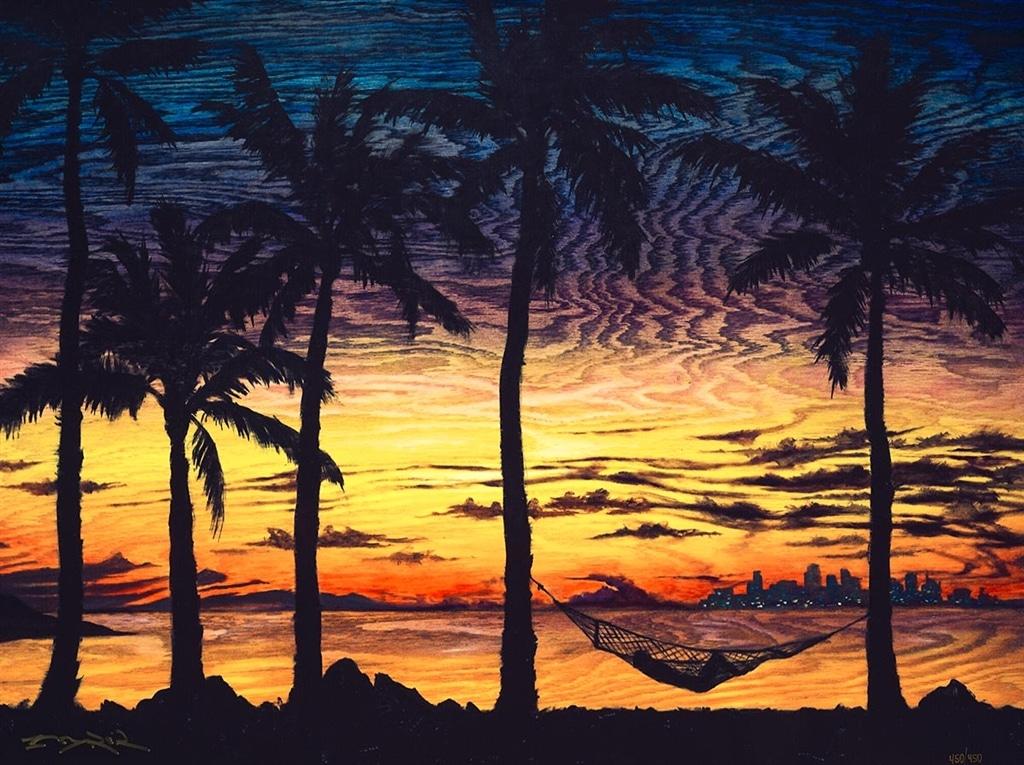 """""""Breezy Island Living"""" (2019), Matt Beyrer"""
