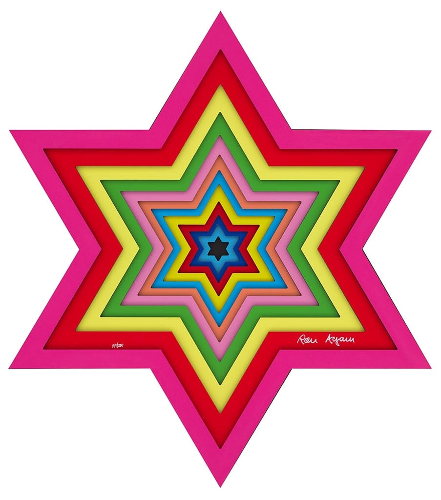 """Star of David,"" Ron Agam"