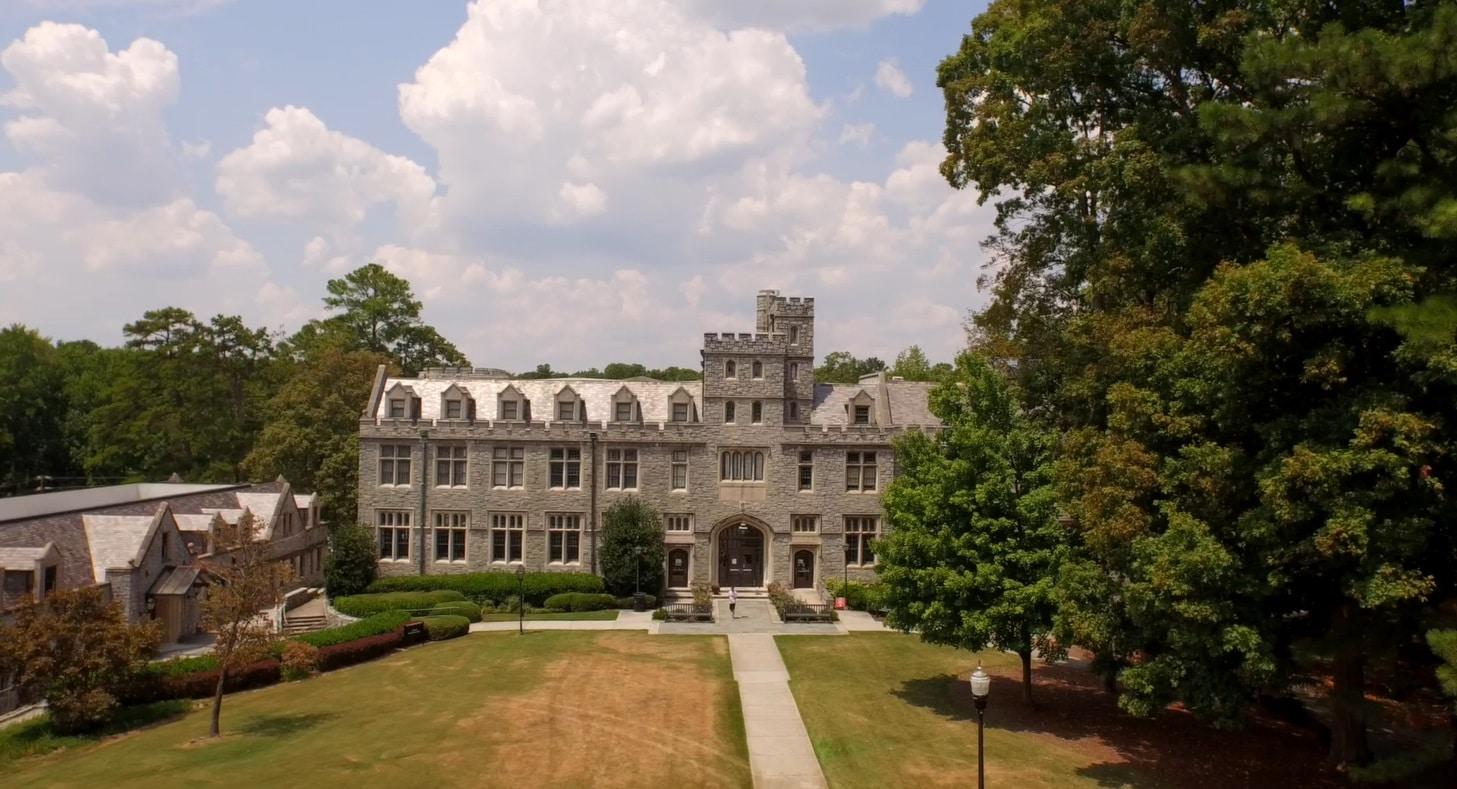 The campus of Oglethorpe University in Atlanta, Georgia.