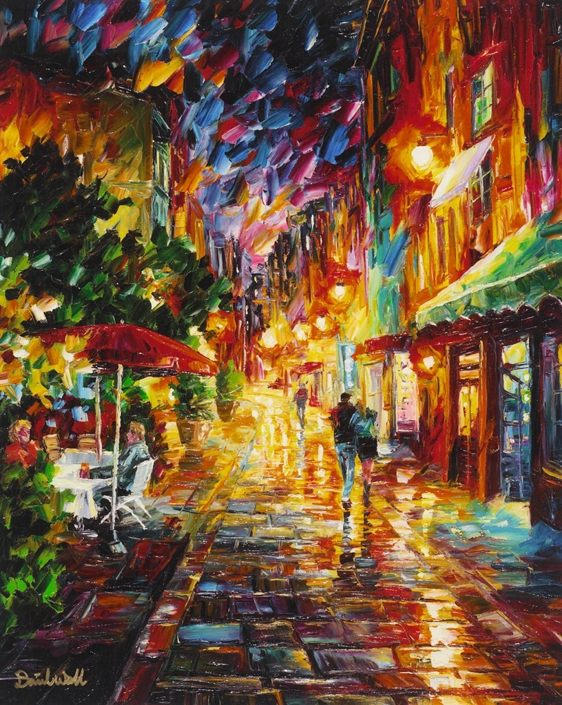"""A Romantic Alley,"" Daniel Wall"