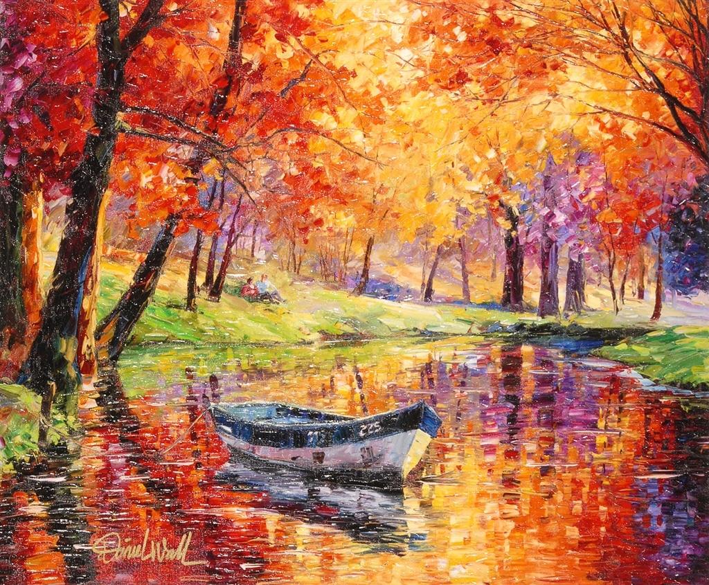 """Colorful Quiet Fall,"" Daniel Wall"