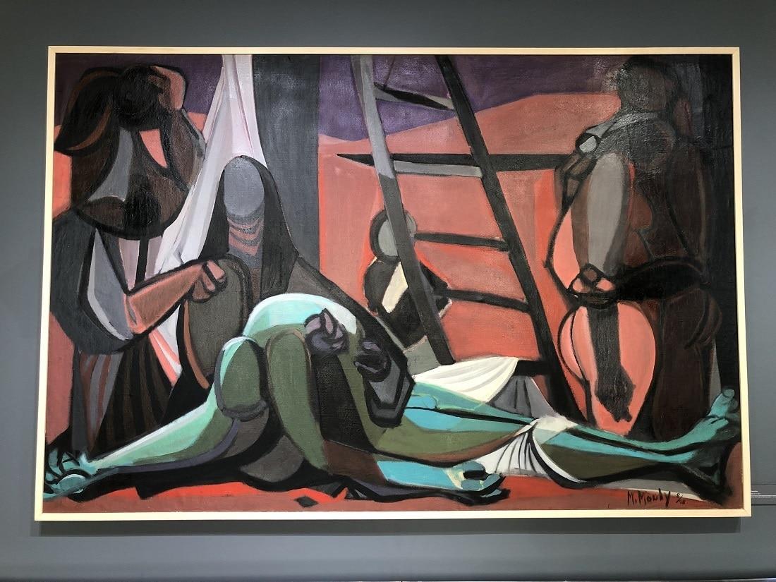 """Deposition"" (1948), Marcel Mouly"