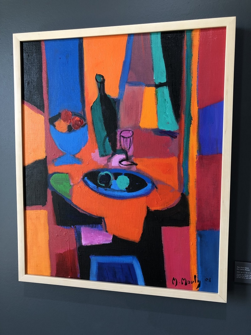 """""""The Pink Glass"""" (Le Verre Rose; 2001), Marcel Mouly"""
