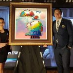Park West Art Auctioneers Jared Hamer and Irene van Huyssteen