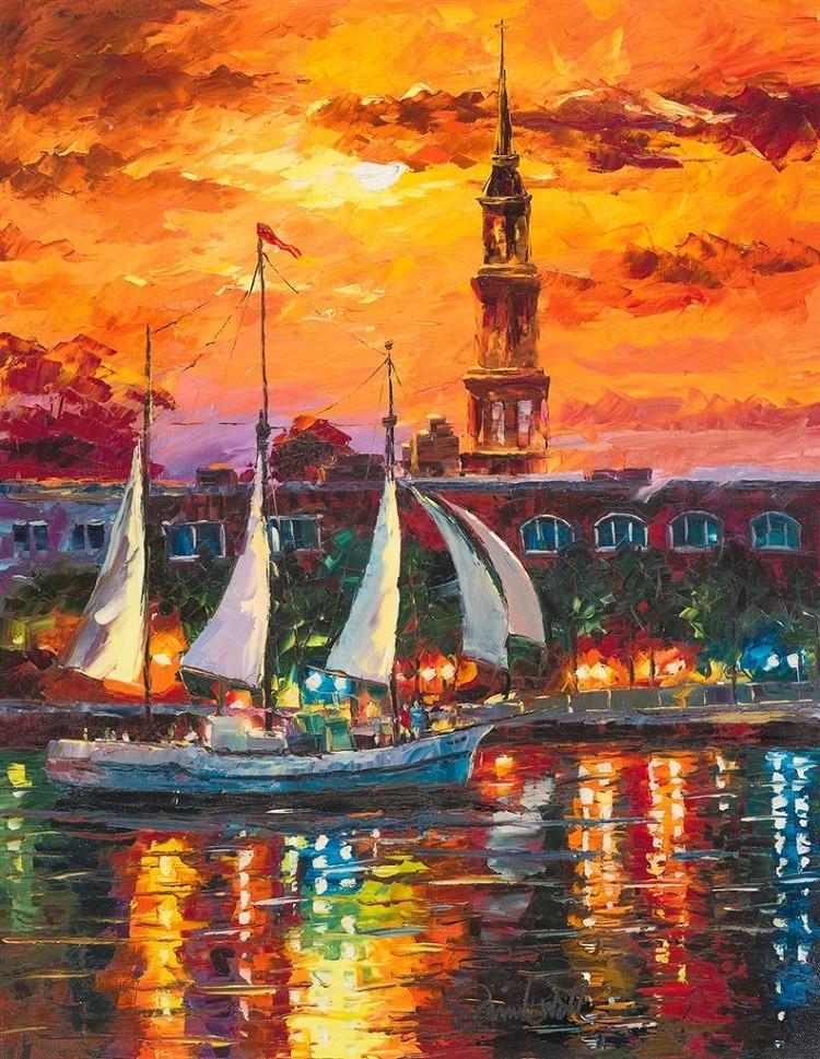 """Charleston Waterfront,"" Daniel Wall"