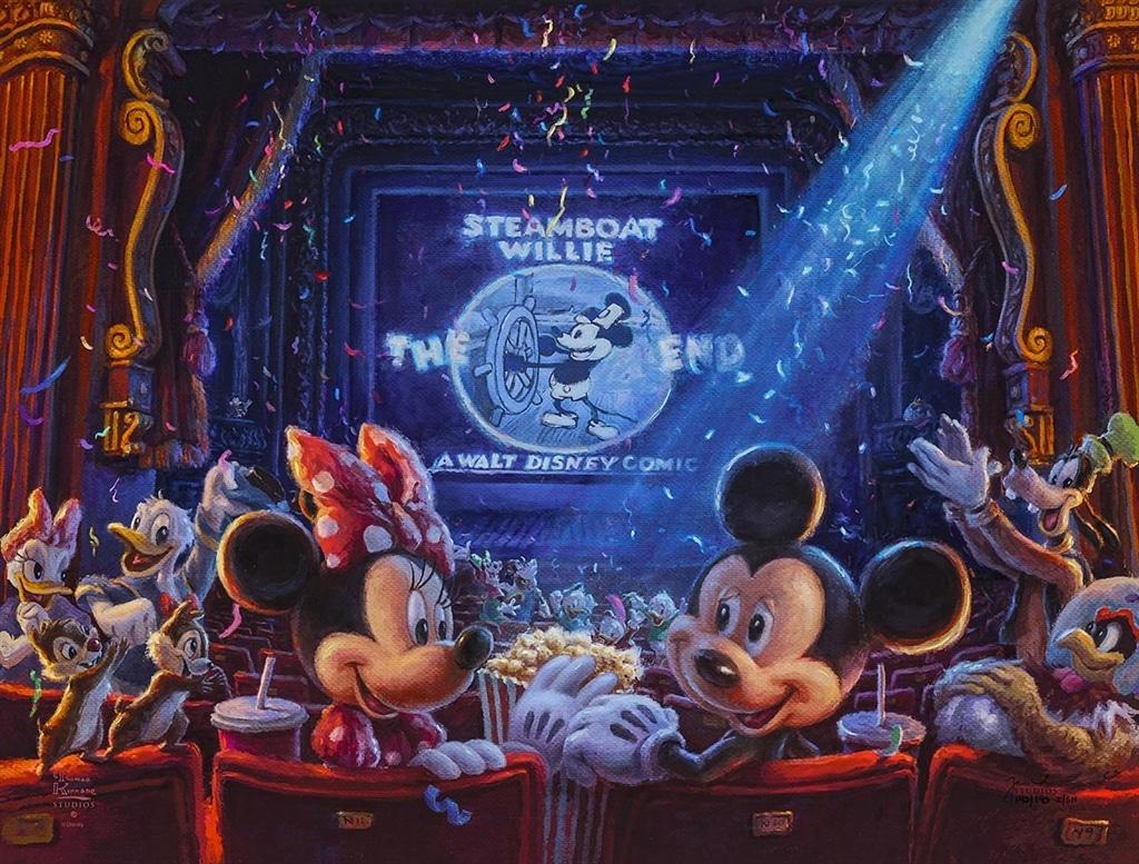 """""""90 Years of Mickey,"""" Thomas Kinkade Studios"""