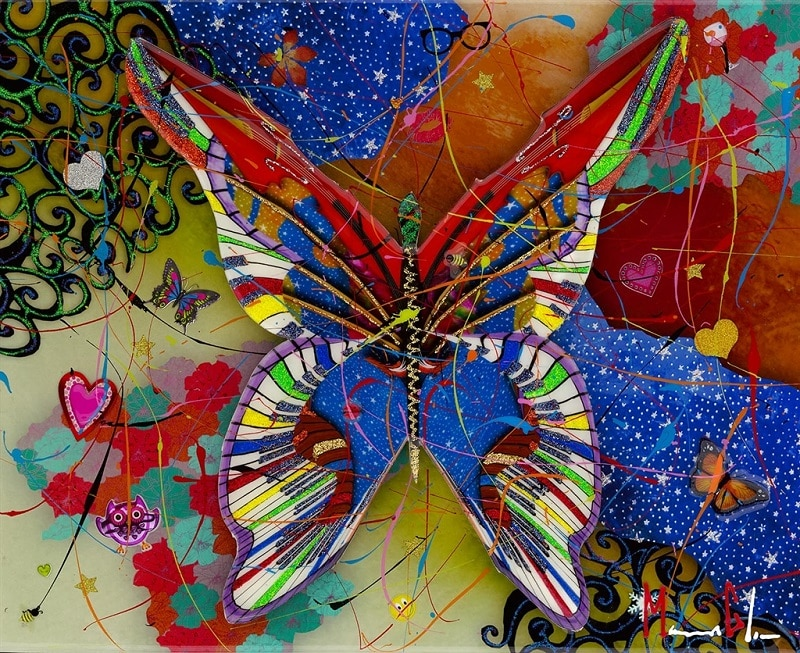 """""""Jazzy Butterfly Jazzy Butterfly,"""" Marcus Glenn"""