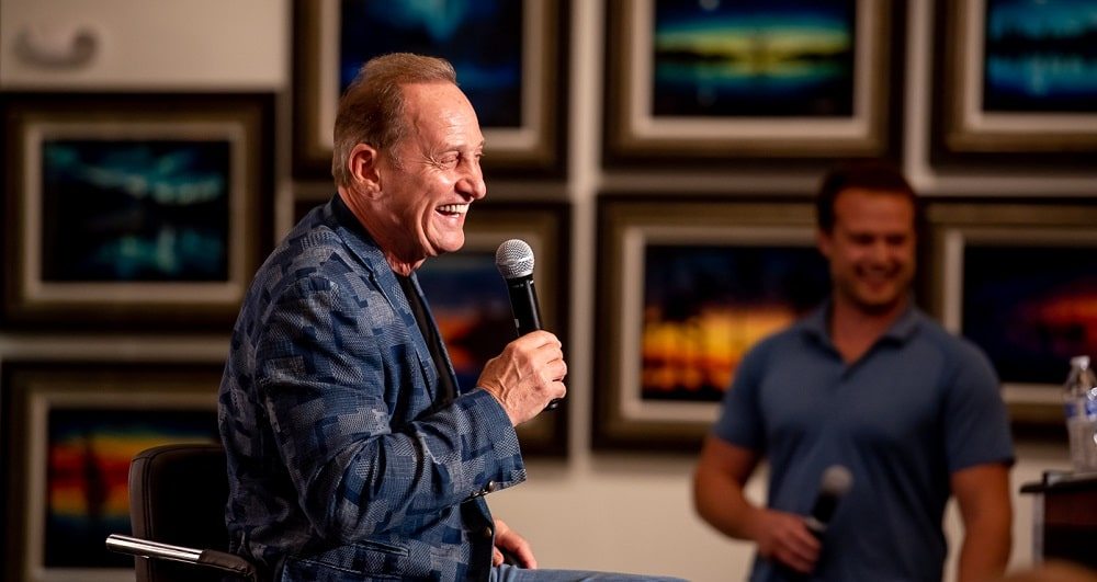 Park West Gallery Founder and CEO Albert Scaglione