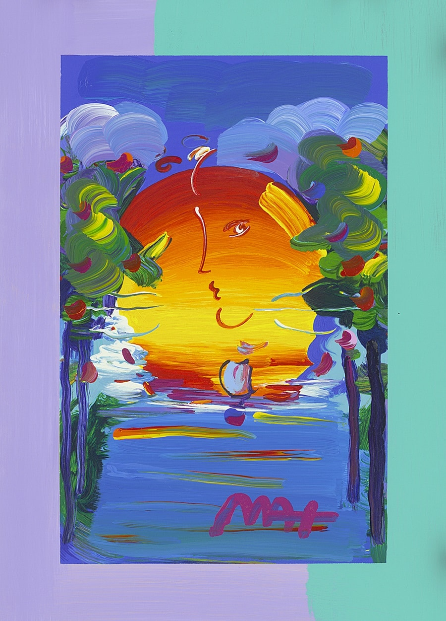 """Better World,"" Peter Max"