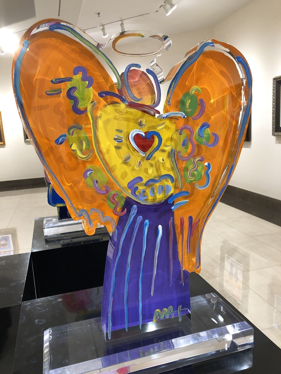 """Angel with Heart Ver. 1 #103,"" Peter Max"