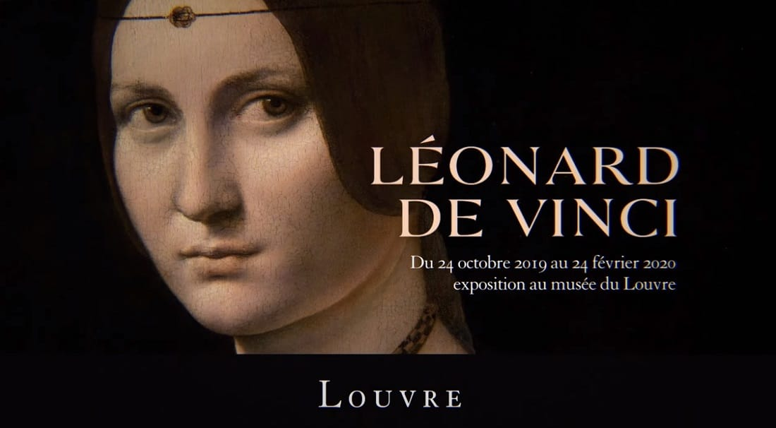 Promotional image for the Louvre's Leonardo da Vinci retrospective (Image credit: YouTube)