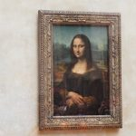 "Leonardo da Vinci's ""Mona Lisa"" at the Louvre"