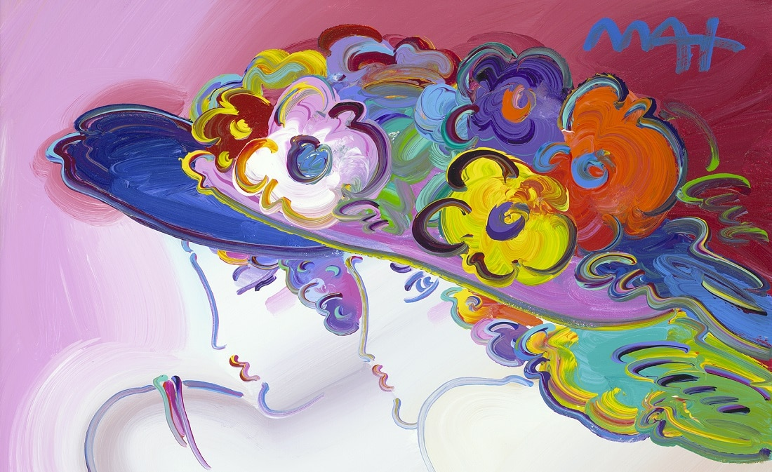 """Century Ladies Ver. IX #134,"" Peter Max"