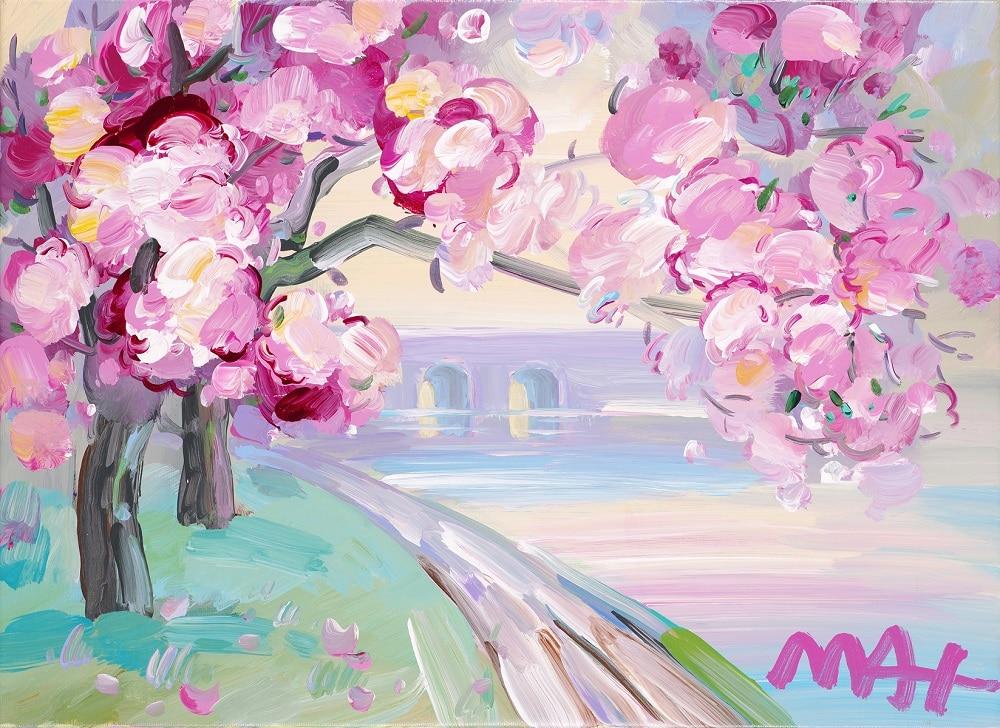 """Cherry Blossom I Ver. III #309,"" Peter Max"